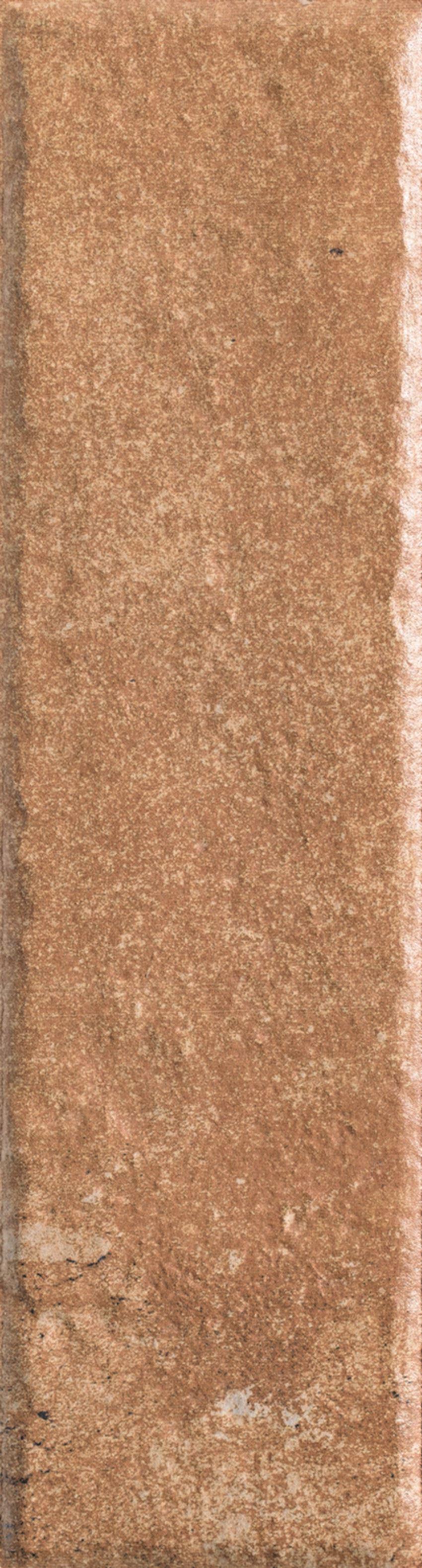 Płytka elewacyjna 6,6x24,5 cm Paradyż Scandiano Rosso Elewacja 24,5X6,6