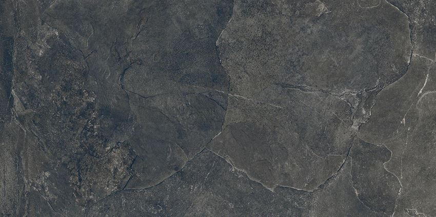 Płytka podłogowa 239,8x119,8 cm Tubądzin Grand Cave Graphite STR