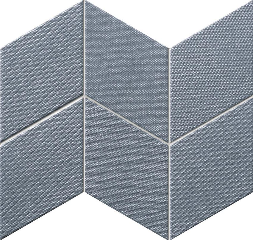 Mozaika ścienna 29,8x22,8 cm Tubądzin House of Tones navy