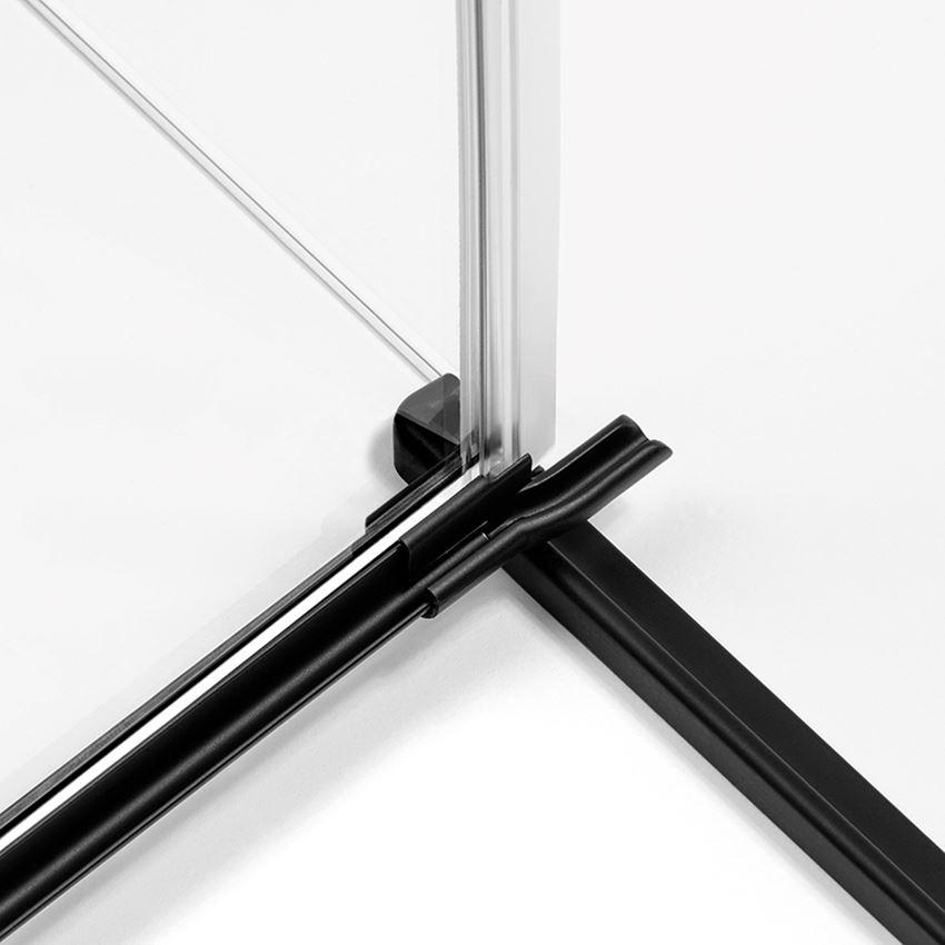 Rynienka z listwą New Trendy Avexa Black