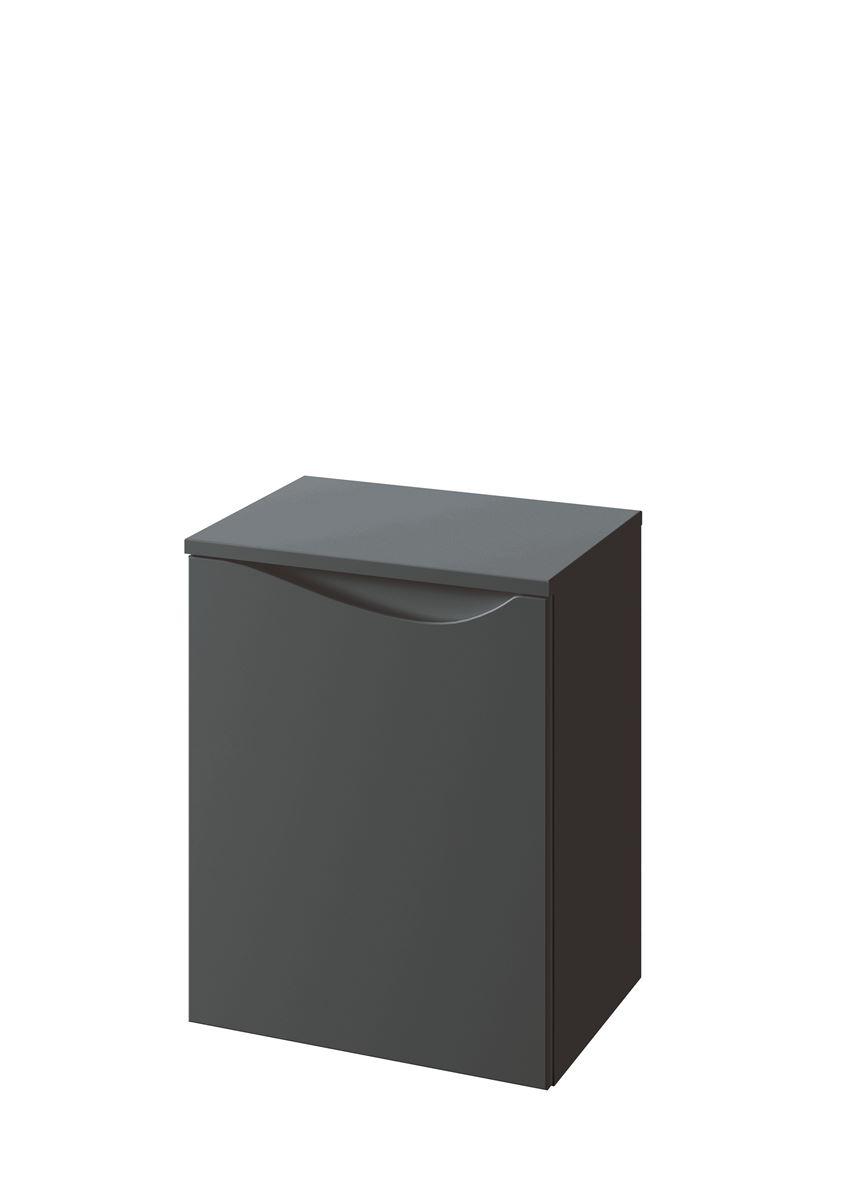 Słupek podwieszany niski lewy 41,2x51,6x30 cm Defra Murcia B40