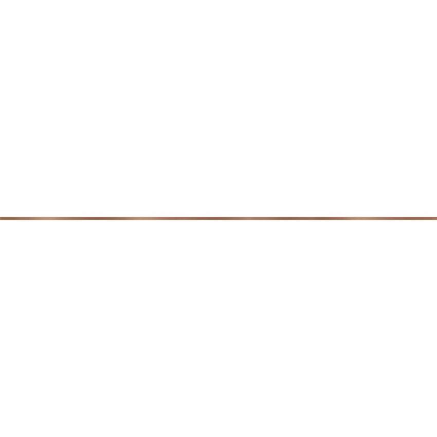 Listwa ścienna Opoczno Metal Copper Border Glossy 1X119,8