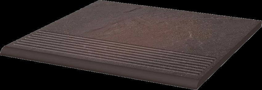 Płytka stopnicowa 30x30 cm Paradyż Semir Rosa Stopnica Prosta