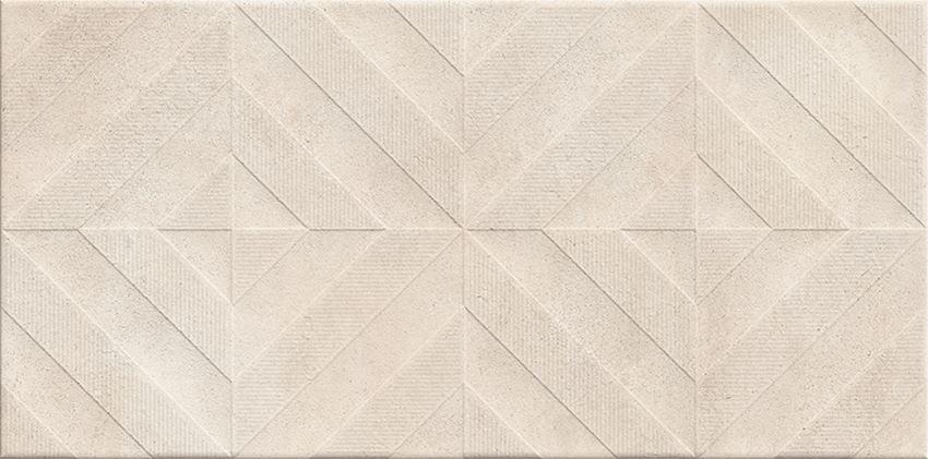 Płytka dekoracyjna 29,7x60 cm Cersanit Taupe Inserto Matt