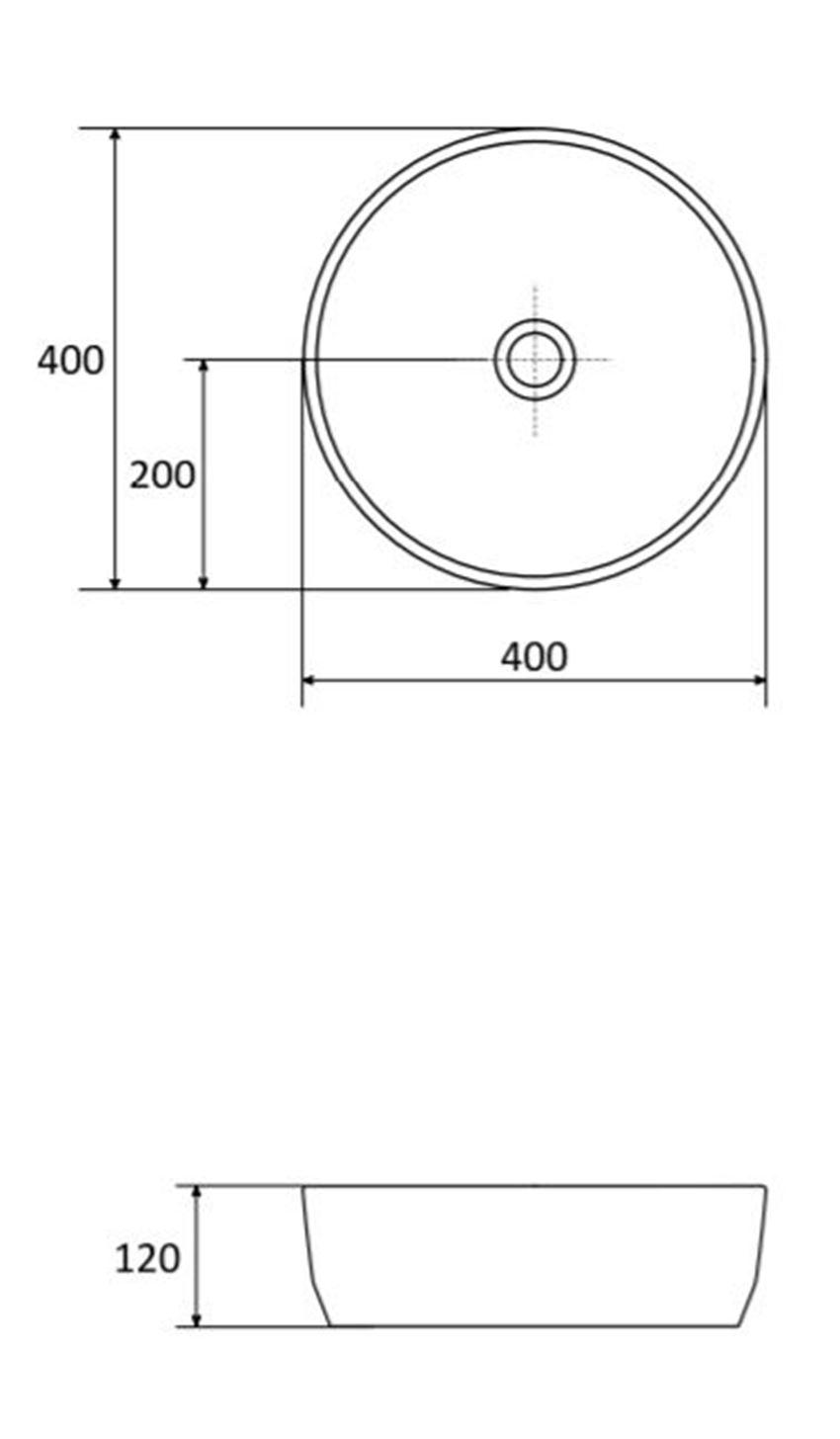 Umywalka Azario Averno Slim Round rys. techniczny 2.jpg