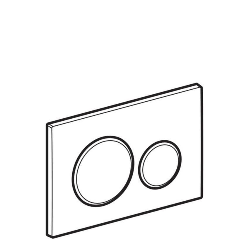 Przycisk uruchamiający Geberit Sigma rysunek
