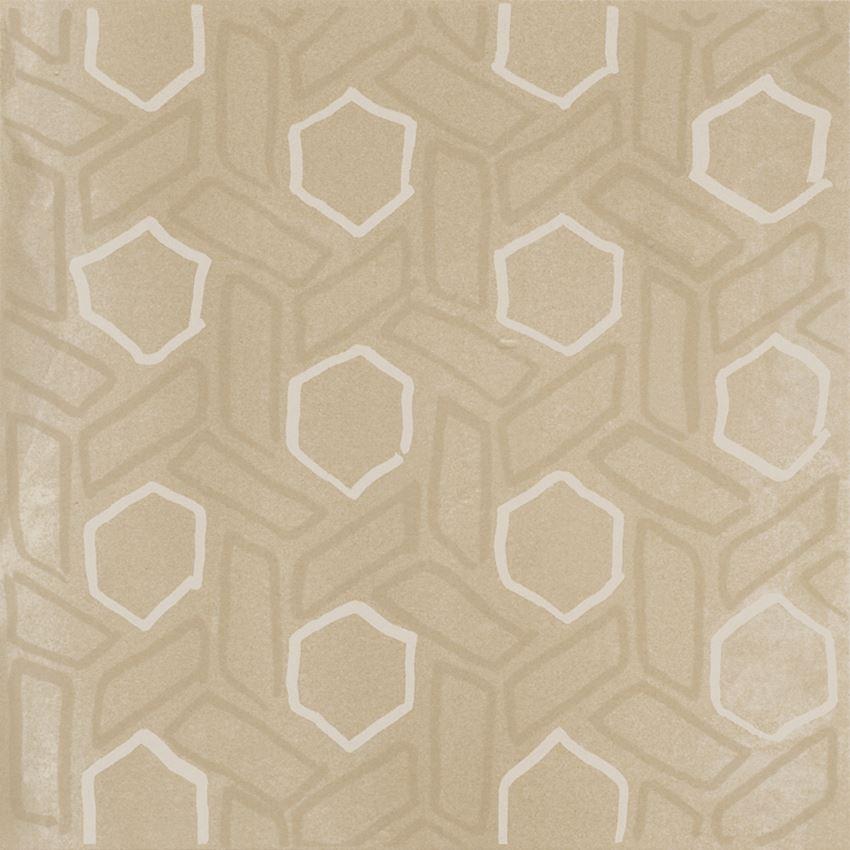 Płytka dekoracyjna 29,8x29,8 cm Paradyż Tigua Beige Inserto C Mat