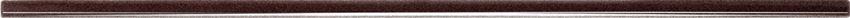 Listwa ścienna 44,8x1 cm Tubądzin Brown