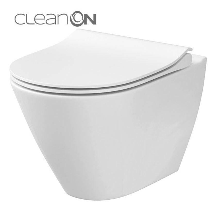 miska Cersanit City Oval CleanOn K35-025