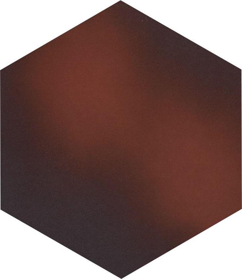 Płytka podłogowa Paradyż Cloud Brown Heksagon
