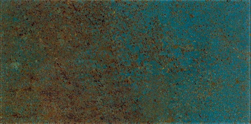 Dekoracja ścienna gr.6 mm 29,5x59,5 cm Paradyż Uniwersalne Inserto Szklane Paradyż Azurro C
