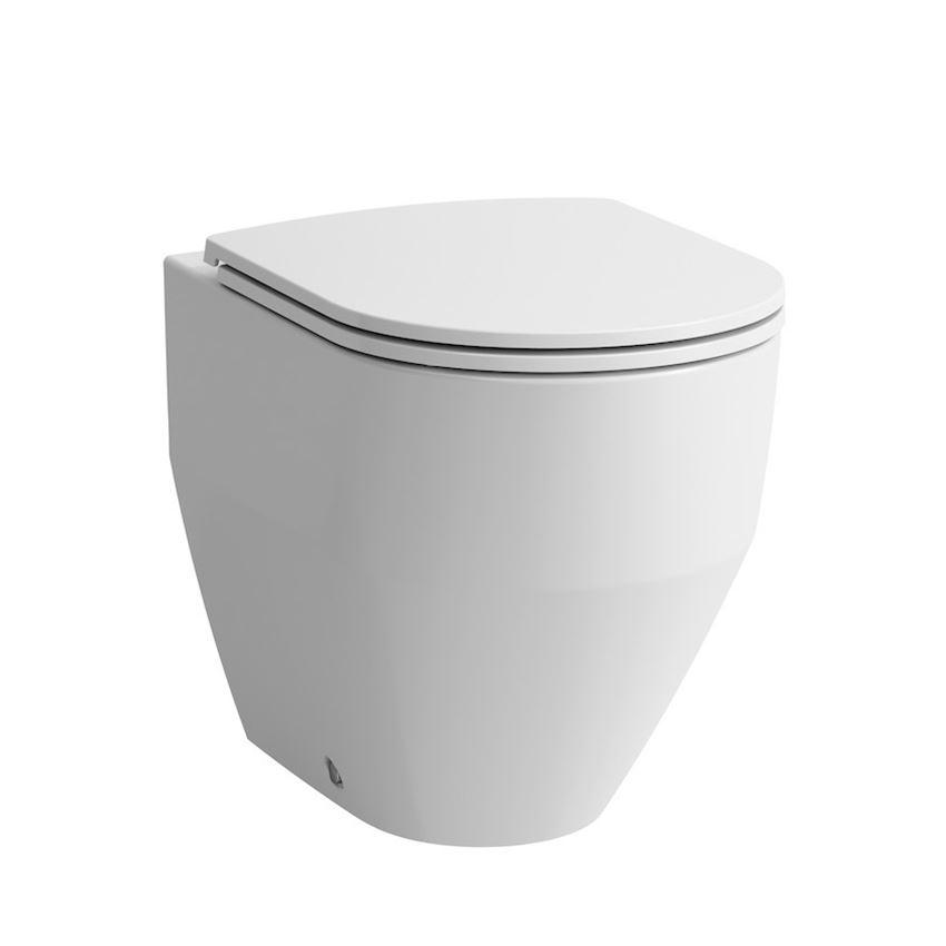 Miska WC stojąca rimless lejowa, bezkołnierzowa Laufen Pro
