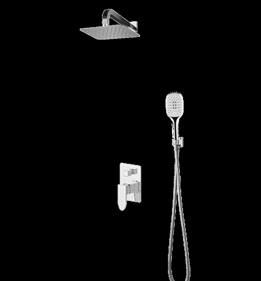 Kompletny łazienkowy system podtynkowy Omnires Siena