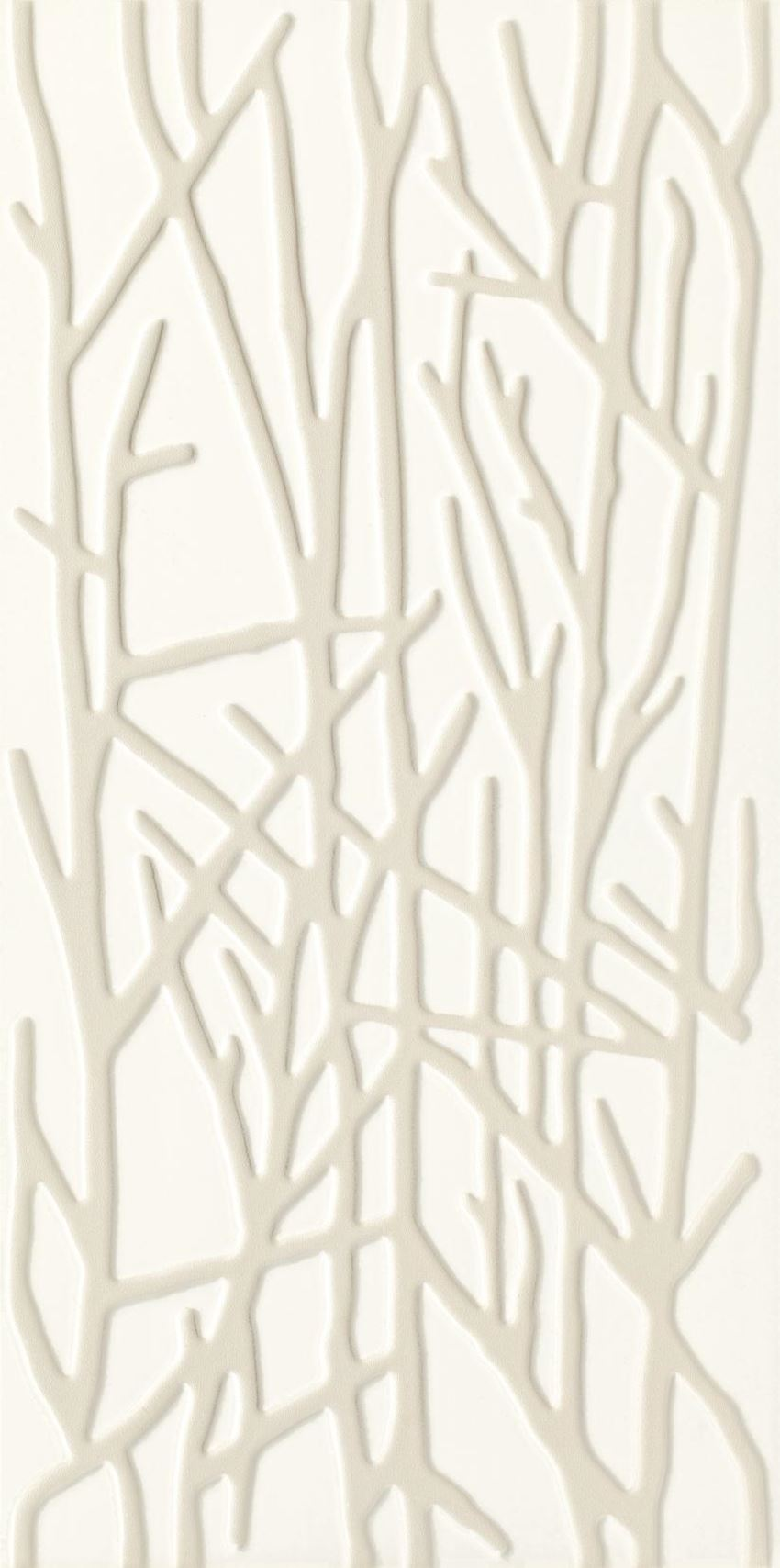 Paradyż Adilio Bianco Ściana Struktura Rekt. Tree Decor