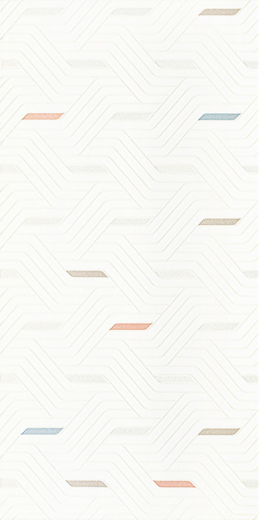 Dekoracja ścienna 30x60 cm Paradyż Synergy Colour Inserto Mix