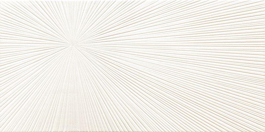 Dekor ścienny 60,8x30,8 cm Domino Bafia white 1