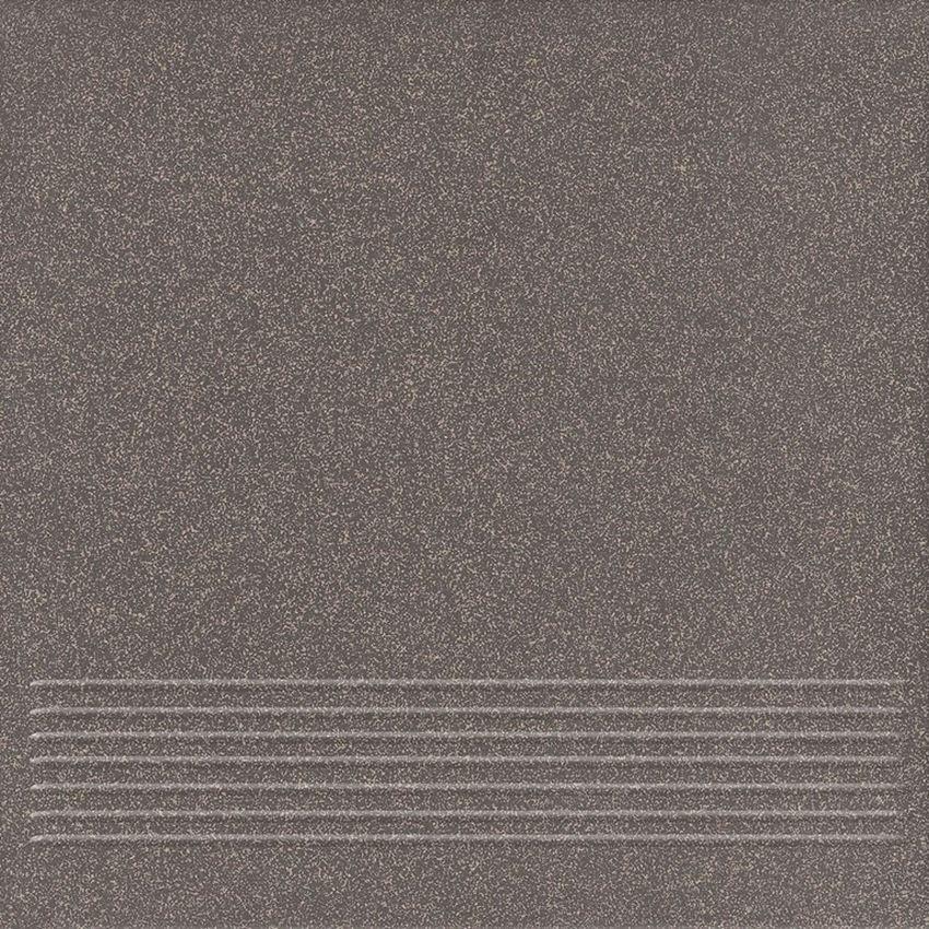 płytka stopnicowa Cersanit Etna Graphite Steptread W002-003-1