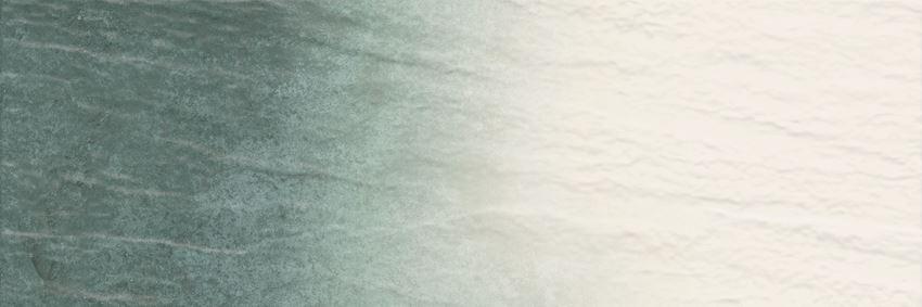 Płytka ścienna 25x75 cm Paradyż Nightwish Navy Green Ściana Tonal Struktura Rekt.