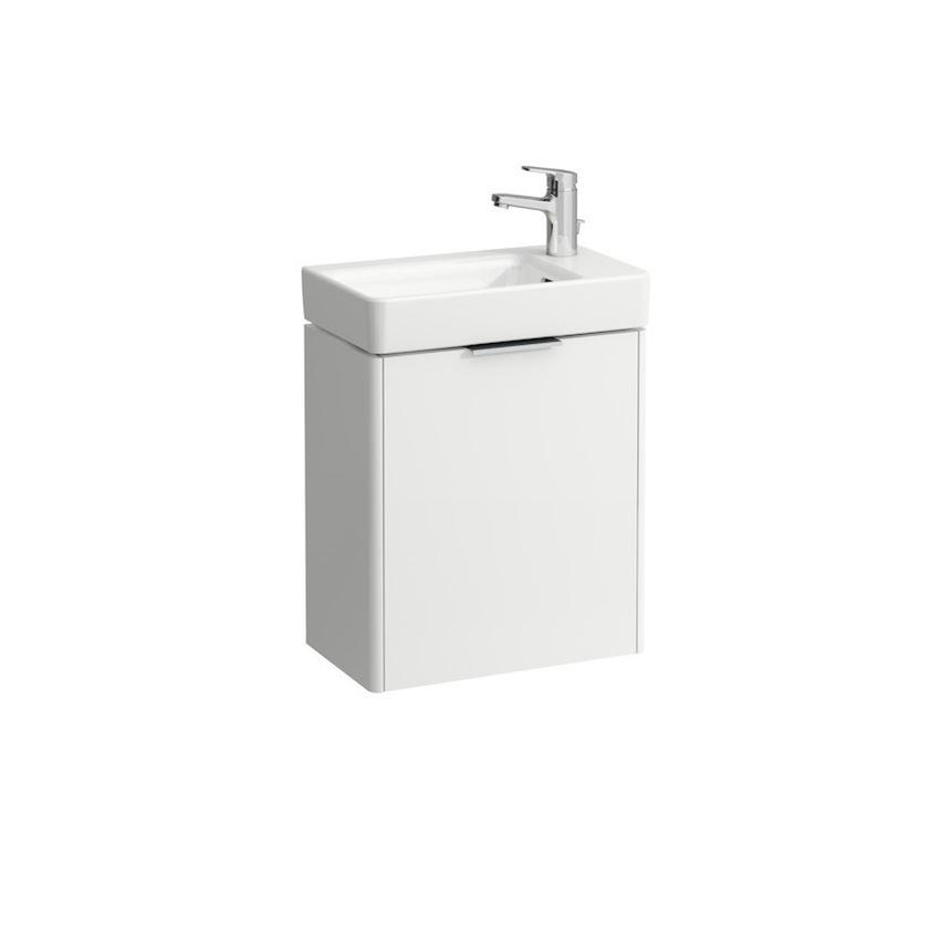 Mała umywalka półka na baterię z prawej strony 48 cm Laufen Pro S