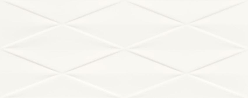 Płytka ścienna 74,8x29,8 cm Tubądzin Abisso white STR