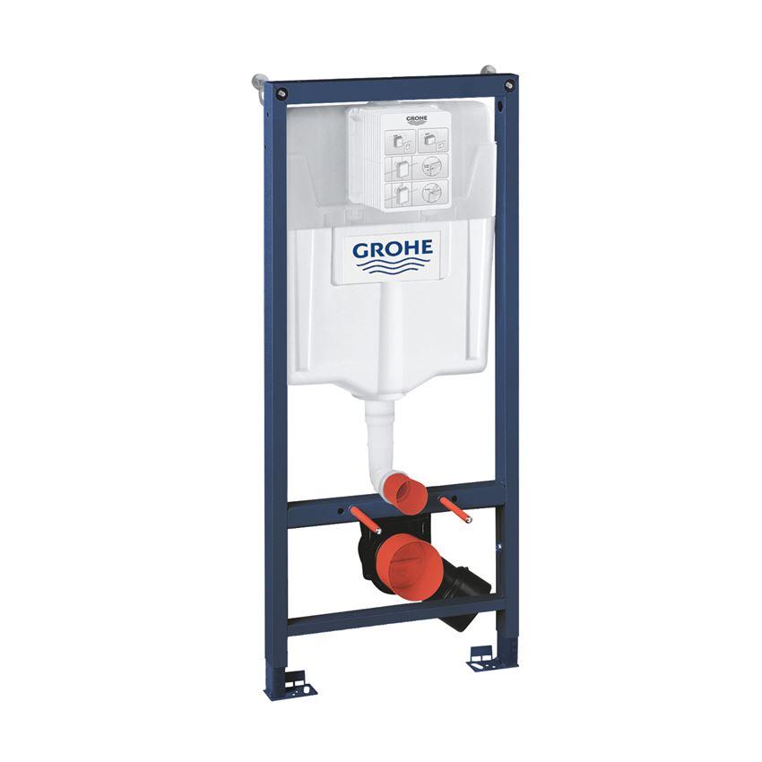 Stelaż do WC ściennego ze spłuczką i wspornikiem Grohe Rapid SL