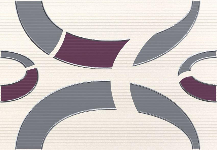 Dekor ścienny 36x25 cm Domino Indigo 3