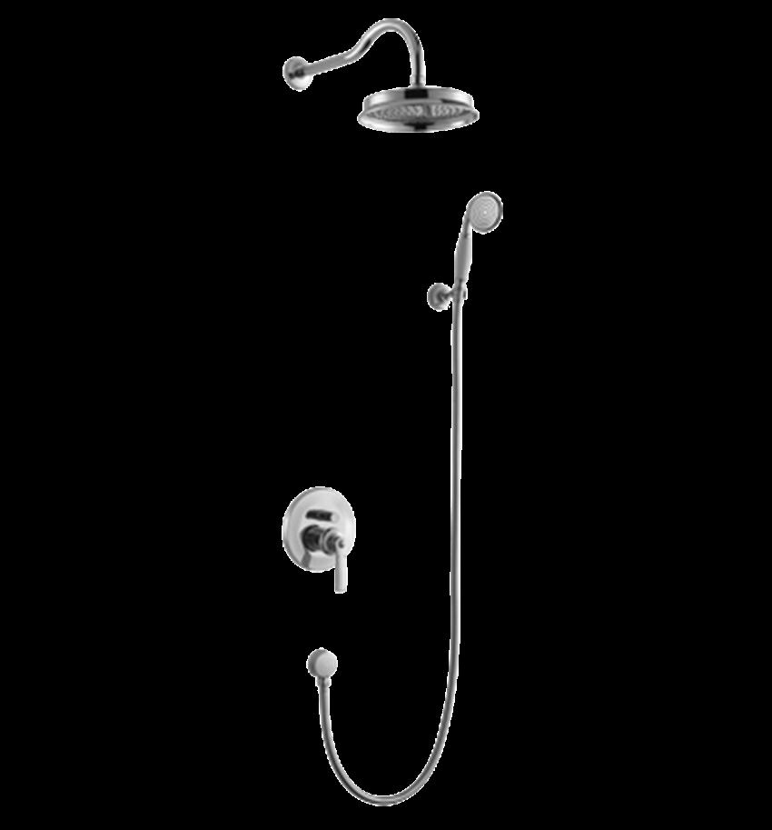 Kompletny łazienkowy system podtynkowy Omnires Armance