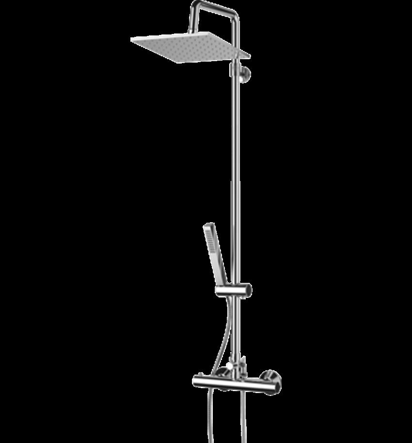 System prysznicowy natynkowy Omnires Mini