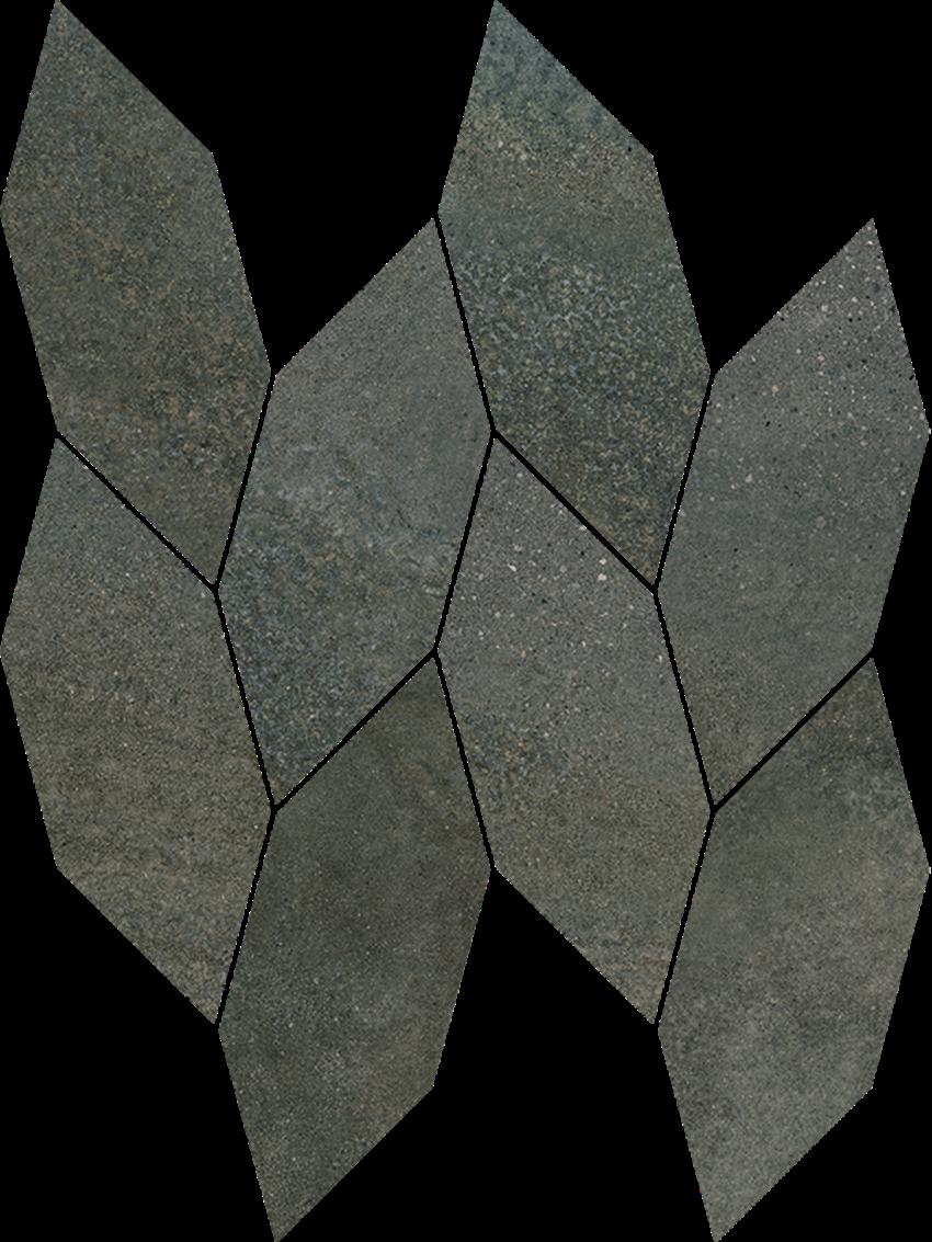 Mozaika 22,3x29,8 cm Paradyż Smoothstone Umbra Mozaika Cięta Satyna