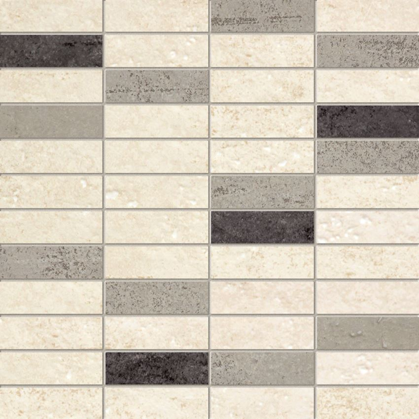 Mozaika ścienna 29,8x29,8 cm Domino Bihara krem