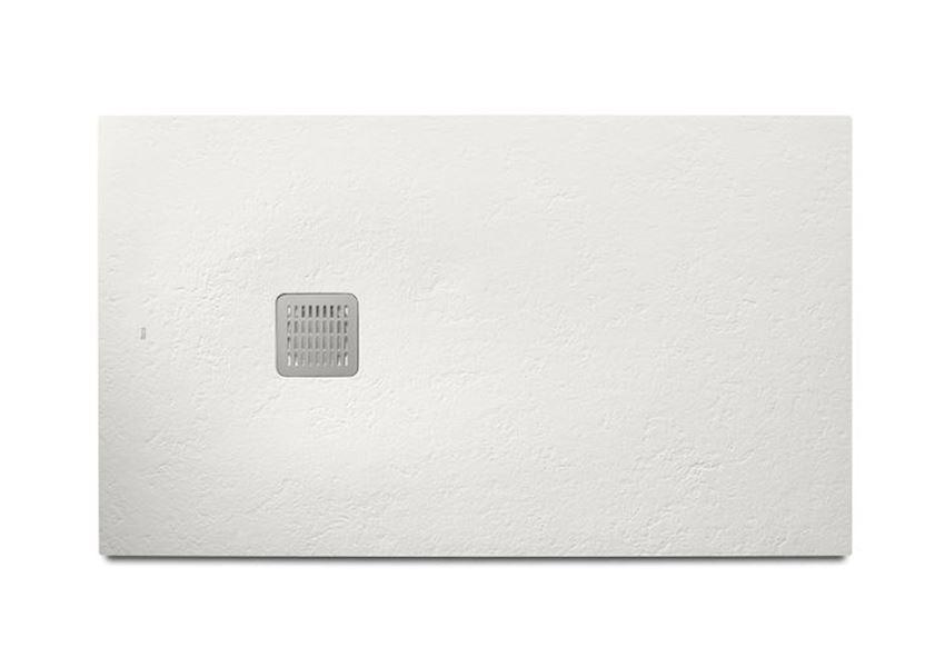 Brodzik kompozytowy STONEX® 160x100x3,1 cm biały Roca Terran