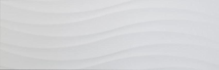 Płytka ścienna 30x90 cm Azario Zanzibar White Waves