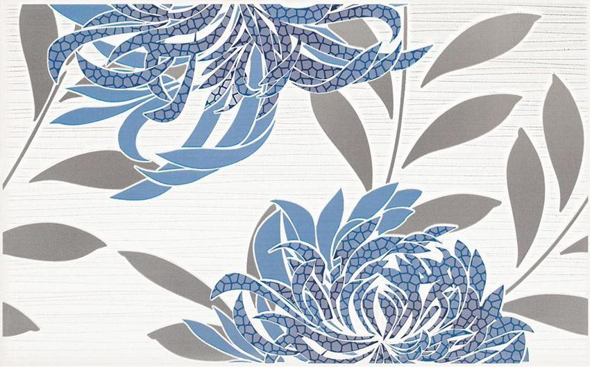 Dekoracja ścienna 40x25 cm Paradyż Acapulco Blue inserto B