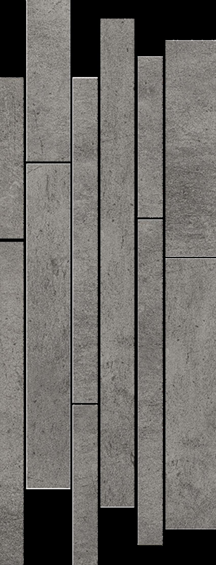 Listwa 20x52 cm Paradyż Taranto Grys Listwa Mix Paski Mat