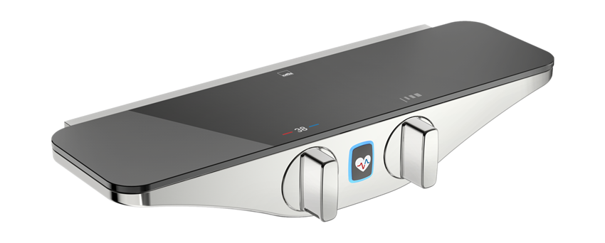 Bateria natryskowa termostatyczna z programem odnowy ciała Wellfit Oras Esteta Wellfit