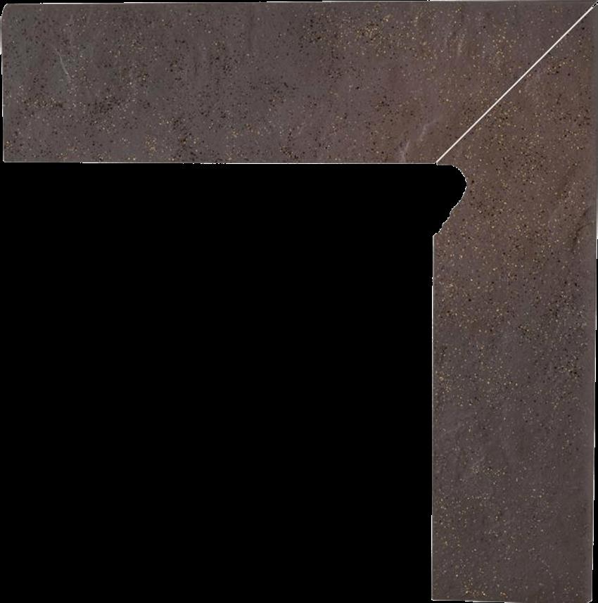 Płytka cokołowa 8,1x30 cm  Paradyż Semir Rosa Cokół 2 El.-Prawy