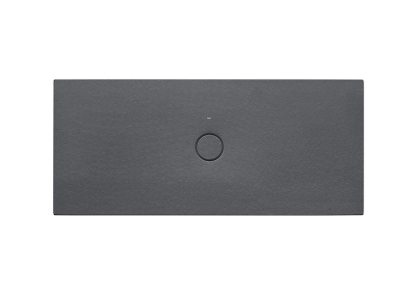 Brodzik ceramiczny SENCERAMIC® Onyks 160x70 cm Roca Cratos