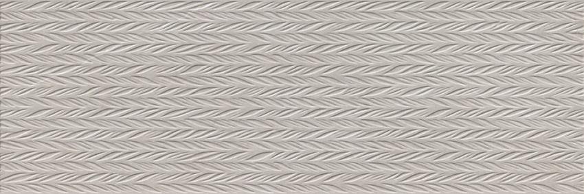 Płytka ścienna 20x60 cm Cersanit Manzila grey structure matt