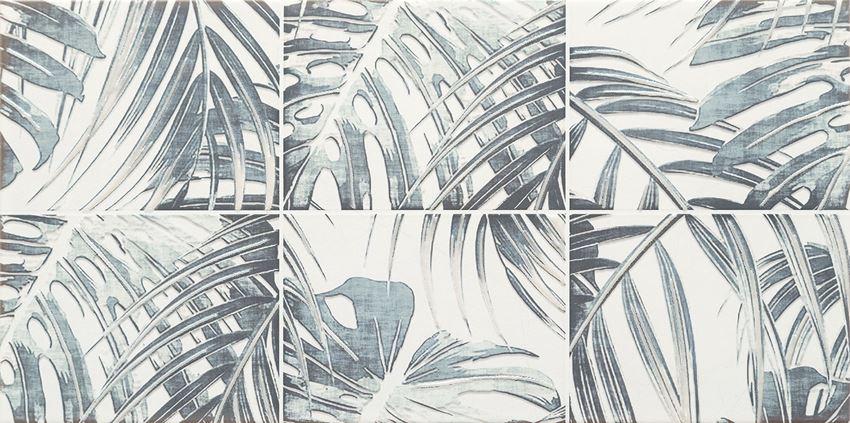 Dekor ścienny 60,8x30,8 cm Domino Idylla grey 1