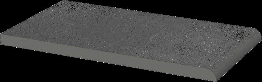 Płytka elewacyjna 13,5x24,5 cm Paradyż Semir Grafit Parapet