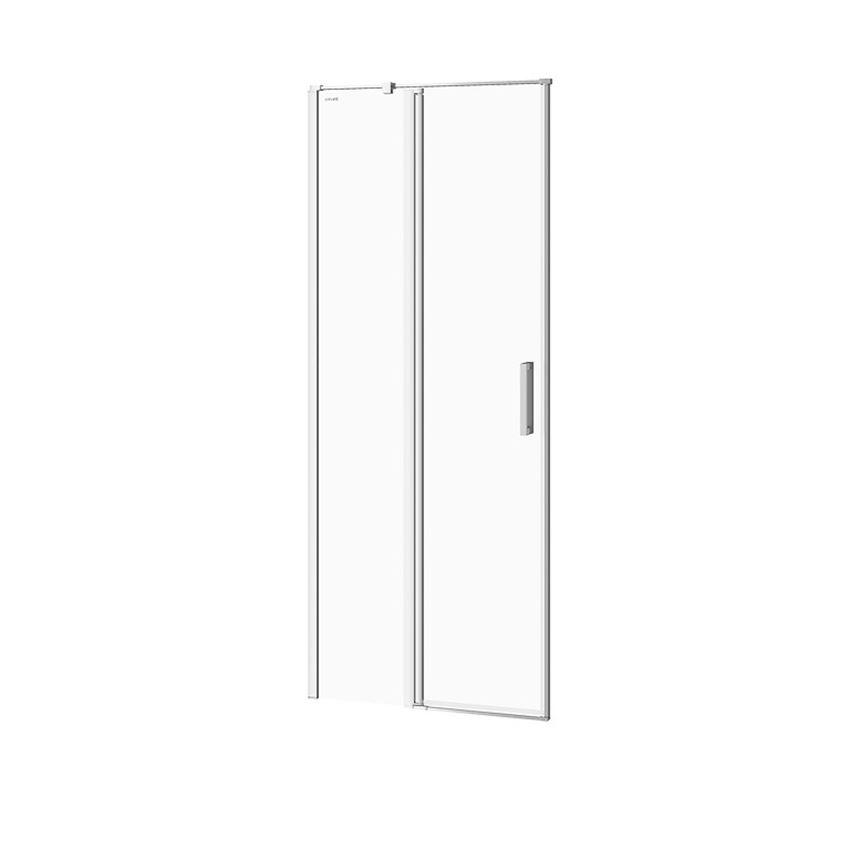 Drzwi prysznicowe lewe 80x195 cm Cersanit Moduo