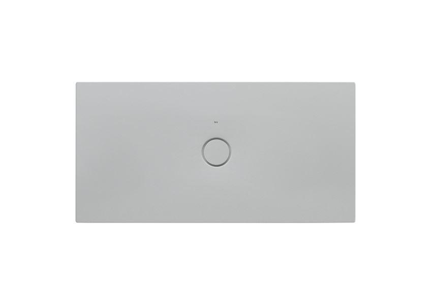 Brodzik ceramiczny SENCERAMIC® Perłowy 140x70 cm Roca Cratos