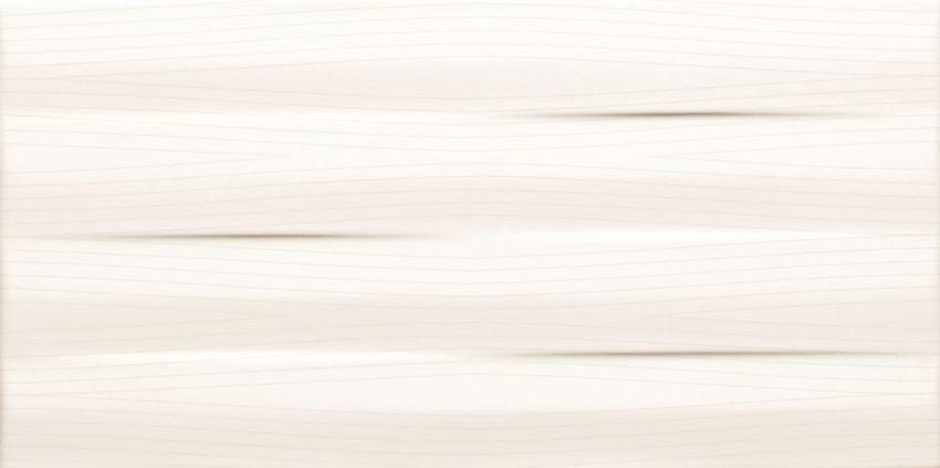 Płytka ścienna Tubądzin Maxima white struktura