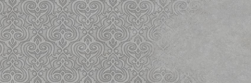 Dekor ścienny 29,5x89,5 cm Azario Atienet Delicate Gris A