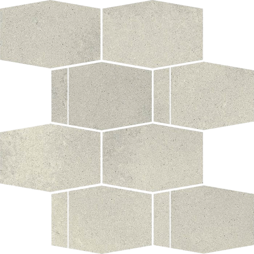 Paradyż Naturstone Grys Mozaika Cięta Hexagon Mix 23,3x28,6 cm