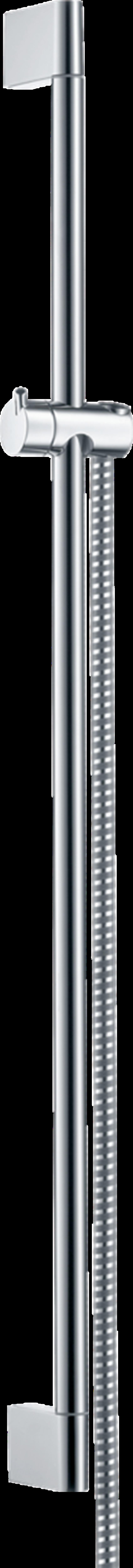 Drążek prysznicowy Crometta 90 cm z wężem chrom Hansgrohe Unica