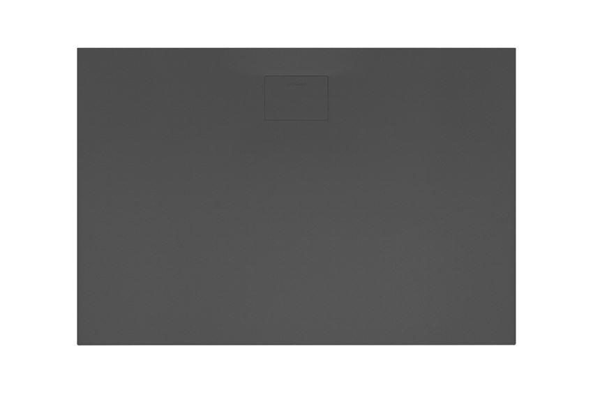 Brodzik prostokątny czarny 140x80 cm Excellent Lavano