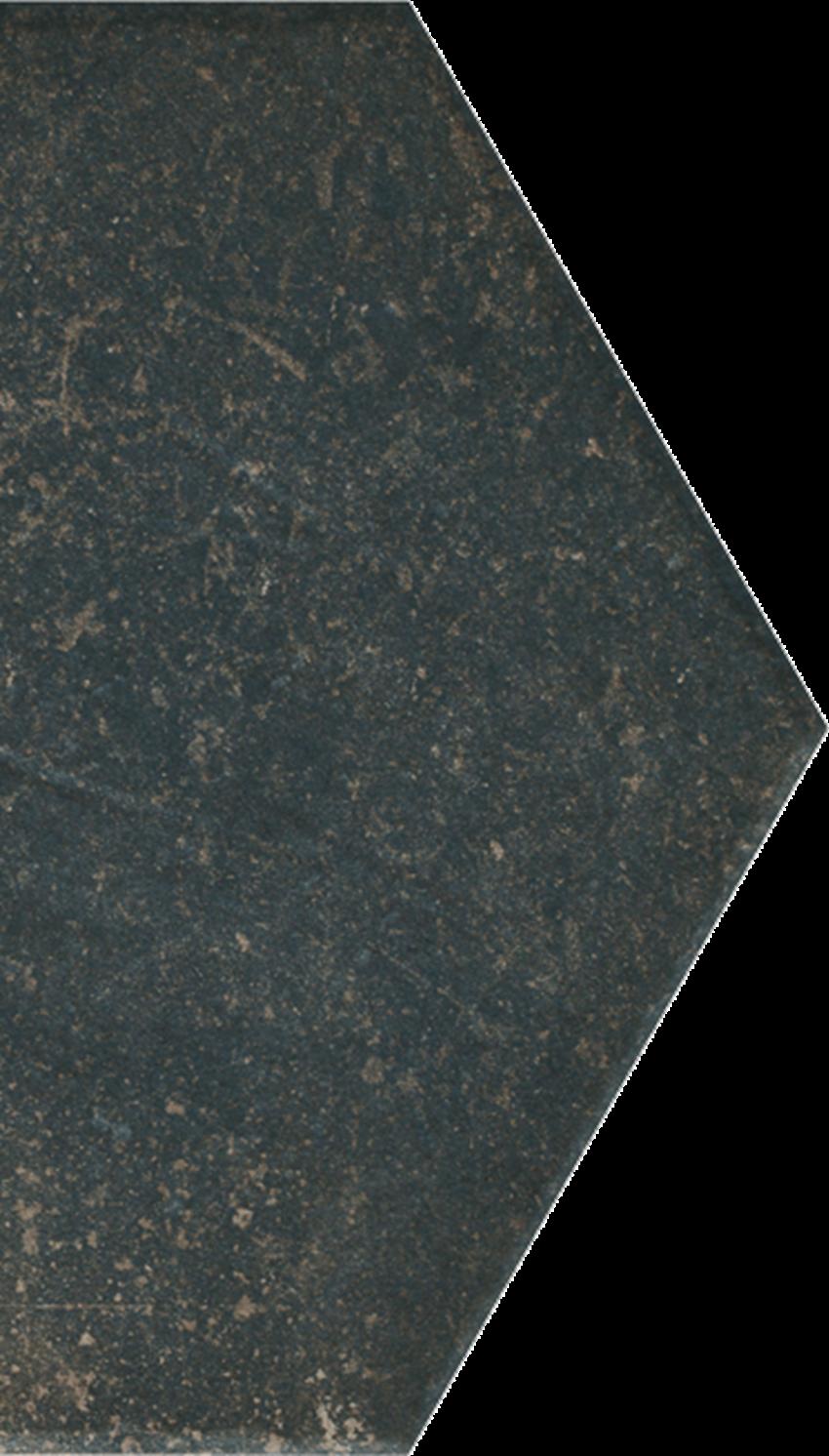 Dekoracja podłogowa 14,8x26 cm Paradyż Scandiano Brown Połowa