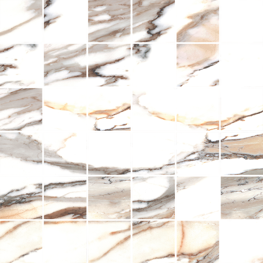 Mozaika 30x30 cm Cerrad Calacatta gold Mat