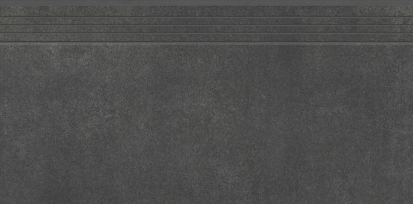 Płytka stopnicowa 39,7x79,7 cm Cerrad Concrete anthracite